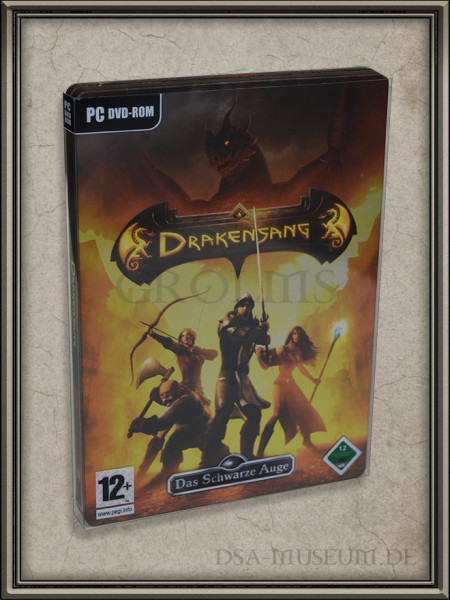 Drakensang Individual Edition (Limited Collectors Edition Sonderausgabe) - Steelcase Verpackung