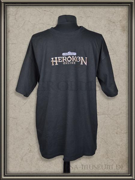 Herokon Online Promo T-Shirt für die RPC 2012 Messe: Vorderseite