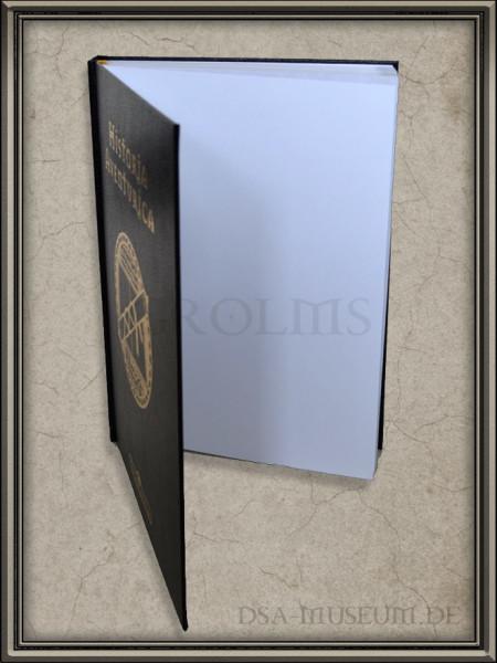 Historia Aventurica Limited Edition: unnummerierte Ausgabe mit ungestempelten Vorsatzblatt