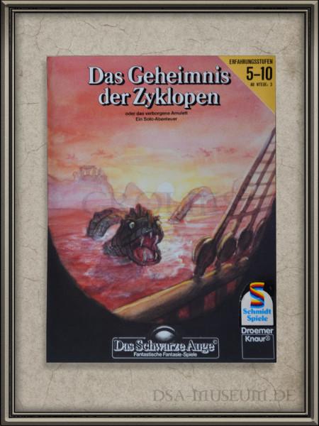 """DSA-Abenteuer Cover Entwurf """"Das Geheimnis der Zyklopen"""""""