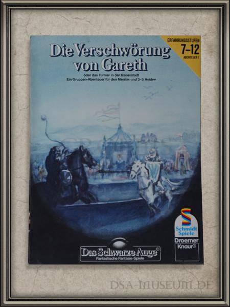 """DSA-Abenteuer Cover Entwurf """"Die Verschwörung von Gareth"""""""