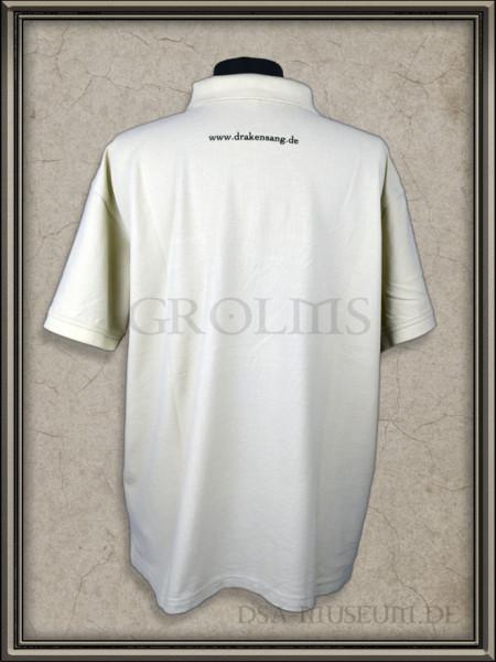 Drakensang Messe Polo-Shirt Rückseite