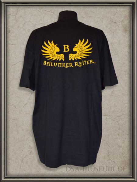 T-Shirt der Beilunker Reiter - Rückseite