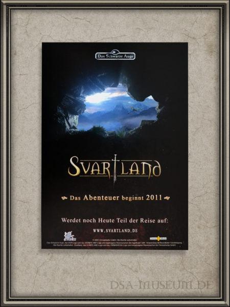 Flyer zum geplanten DSA-Film Svartland