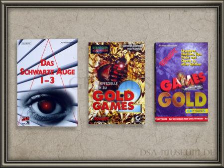 DSA-Computerspiele Lösungsbücher zu Schicksalsklinge, Sternenschweif, Schatten über Riva von Drittanbietern