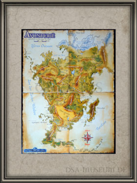 DSA3 Aventurië kaart
